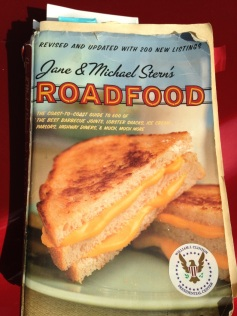 This isn't my old copy of Road Food, but it looks like my old copy of Road Food